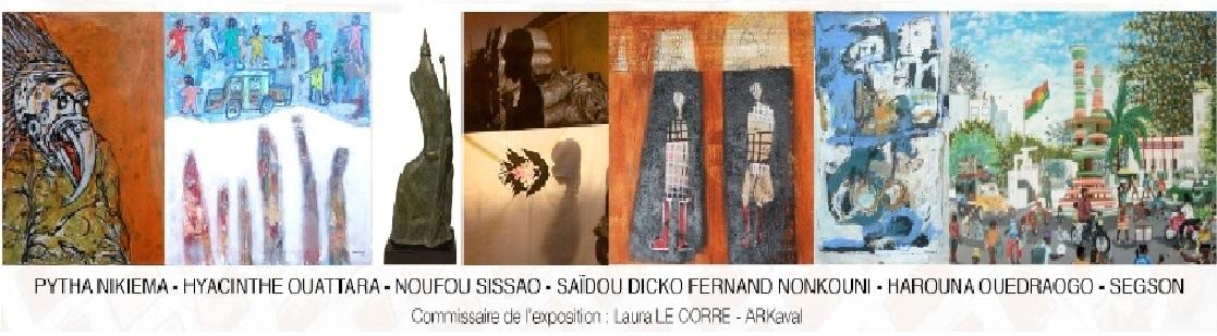 Exposition Artistes Burkinabés 非洲艺术家联展